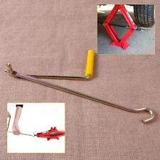 Car Van Steel Tire Wheel Lug Wrench Scissor Jack Crank Speed Handle Lift Tool