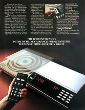 1981 Bang & Olufsen Beocenter 7000 Audio Music System photo vintage print ad
