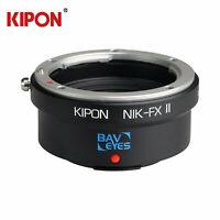 Kipon Adapter Focal Reducer Speedbooster for Nikon F AI Lens to Fuji X 0.7x Cam