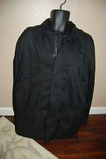 ADIDAS SLVR zip up cotton black shirt, lightweight jacket. Size Xl.$205