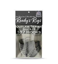 4/0 Reedy's® 187 suicide Hooks Snapper Kingfish Mulloway Beak Jap Made