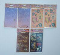 Harry Potter Stickers Lot Plaid Enterprises, Inc. Lot of 6