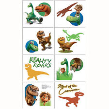 The Good Dinosaur Party Supplies Favours TATTOOS Sheet 8 Sections Cut In To 16
