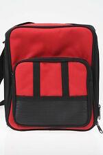 Kameratasche schwarz rot für kleine SLR Ausrüstung NEU!