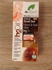 Dr Organic Snail Gel Hand And Nail Elixir Oil 50ml