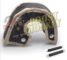 Black Turbo Heat Shield Blanket Wrap Borg Warner S300 S366 S300sx-e twin scroll