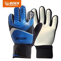 5-7# Sports Kids Teens Football Soccer Goalkeeper Goalie Training Gloves Gear
