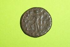 Ancient ROMAN COIN of MAXIMINUS II DAIA 305 AD eagle Genius standing old antique