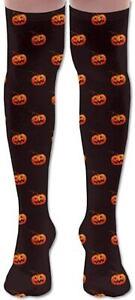 Fashion Long Socks Party Cosplay Long Tube Socks Halloween Pumpkin