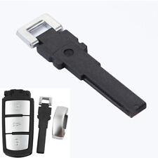 Piegare in bianco Inserire Smart Key Remote chiave di emergenza per VW Passat B7