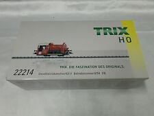 Trix 22214 HO DB KOF II Diesel Locomotive, 2 Rail DCC