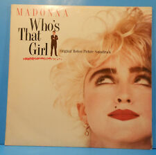 MADONNA WHO'S THAT GIRL OST LP 1987 ORIGINAL PRESS GREAT CONDITION! VG++/VG+!!