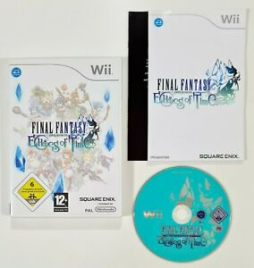 Nintendo Wii Spiel FINAL FANTASY CRYSTAL CHRONICLES - ECHOES OF TIME dt. PAL RPG