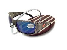 NEW Costa Del Mar BLACKFIN Realtree XTRA Camo & 580 Blue Mirror Glass 580G