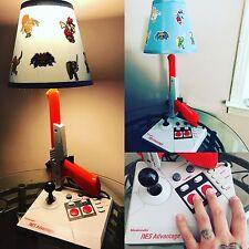 NES NINTENDO CUSTOM LAMP LIGHT ADVANTAGE ZAPPER RETRO GAMING