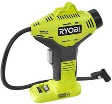 Ryobi 18-Volt One+ Portable Air Compressor-Cordless Tire Inflator-Li Lithium Ion