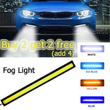 LED Strip For Car DRL Running Daytime Light COB Driving Fog Lights Waterproof