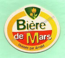 ancien sous-bock  AMSTEL bière de MARS  (envoi monde gratuit) sb1058