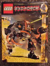 Lego Exoforce 8101 Claw Crusher Devastator 99 pc Set NEW NIB Sealed rare