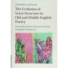 Evolution Verse Structure Old Middle English Poetry F. 9781107148338 Cond=LN:NSD