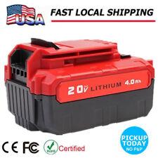 For Porter Cable PCC685L 20V Max Li-Ion Battery 4.0Ah Lithium-Ion PCC681L Hot