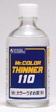 Mr. hobby t-102 color thinner/diluyente 110ml (1 litros = 40,82 EUR)