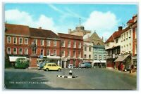 Postcard The Market Place Romsey Hampshire