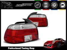 NUOVO COPPIA FANALI FARI POSTERIORI LAMPS LTBM49 BMW E39 09.95-08.00 RED WHITE