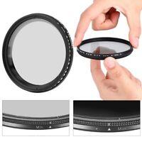 VBESTLIFE ND2-400 Fader Adjustable Variable Filter for Canon Nikon Camera GBD