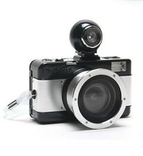 Lomography Used Black Silver Fisheye 2 35mm Film Camera in Very Good Condition