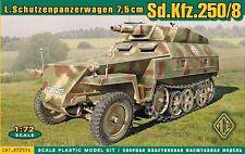 Ace 1/72 Model Kit 72514 German Sd.Kfz.250/8 Stummel