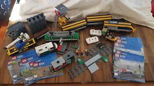 Lego train sets 60197 and 60198 read description