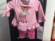 Rare Editions Baby Girl Christmas Outfit New 6 months