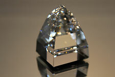 Swarovski Crystal Small Pyramid Paperweight Crystal Cal 7450 Nr 40 095 Mint Coa