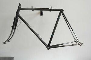 Koga-Miyata Road Bike Frame and Forks with Chrome Ends (F53)