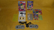 ADAPTATEUR SUPER MULTI TAP 2 NINTENDO SUPER FAMICOM + 2 MANETTES + BOMBER MAN 3