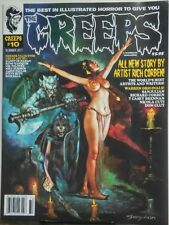 The Creeps Summer 2017 Best In Illustrated Horror Rich Corben FREE SHIPPING sb