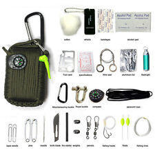 29PCS Outdoor Survival Kit First Aid Tools Camping Rescue Gear Emergency Kit New