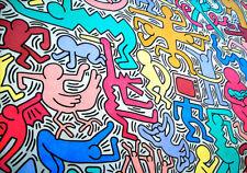 POSTER FINE ART Haring Art 11 cm 35x50 su Carta Fotografica Opaca Papiarte