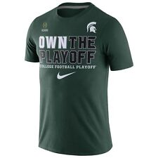 Men's Nike Michigan State Spartans Cotton Bowl Own The Playoff T Shirt XL GN