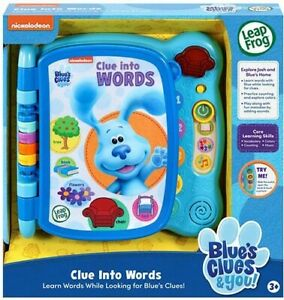 Blue's Clues and You! Clue Into Words Book