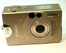Canon PowerShot S100 Digital Elph 2MP Camera does not work AS IS Parts or Repair