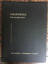 Vintage 1956 CALIFORNIA THE GOLDEN STATE Sketch Book - by William J. Davis