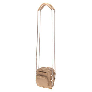 RRP €330 ALEXANDER WANG Crossbody Shoulder Bag Chain Strap Slouchy Design Zipped