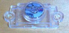 Plastica trasparente con argento POWER ON-OFF/Start-Stop Push Button-TV/AUDIO
