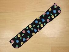 Japanese Tabi Socks Split Toe Graceful Morning Glory Flower