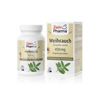 Weihrauch Kapseln hochdosiert 120 Kapseln 450mg vegetarisch zeinpharma