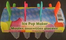 ICE POP MAKER Popsicle Mould Mold Frozen Juice Yogurt Ice Cream