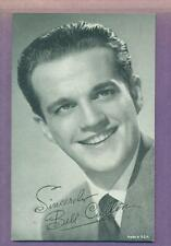1950'S EXHIBIT ARCADE CARD TV GAME SHOW HOST BILL CULLEN  EX/NM-