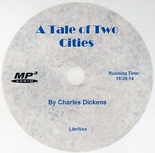 A TALE OF TWO CITIES, Charles Dickens, AudioBook MP3 CD